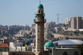 The minaret of a mosque is seen in the Palestinian neighbourhood of Beit Safafa in Jerusalem [File: Ammar Awad/Reuters]