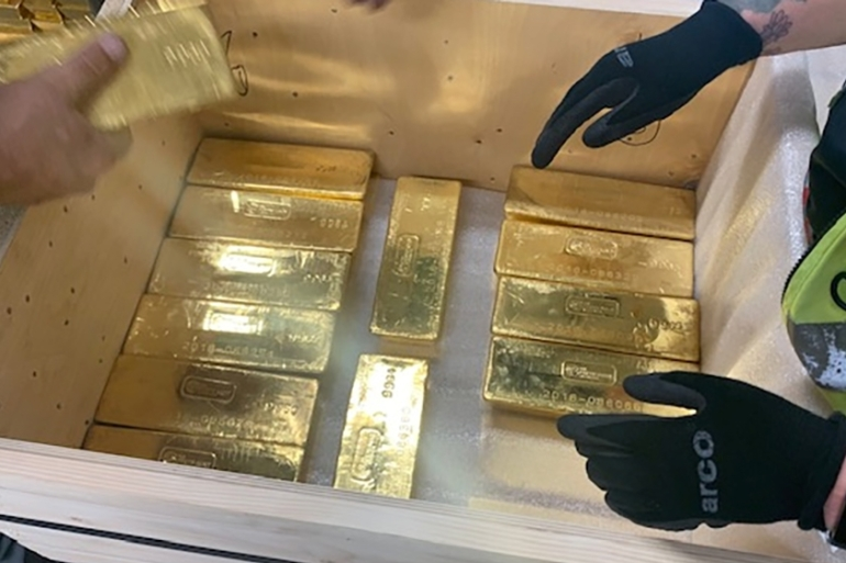 Gold is typically seen as a safe haven by investors during times of mounting uncertainty, such as rising geopolitical tensions [File:Reuters]