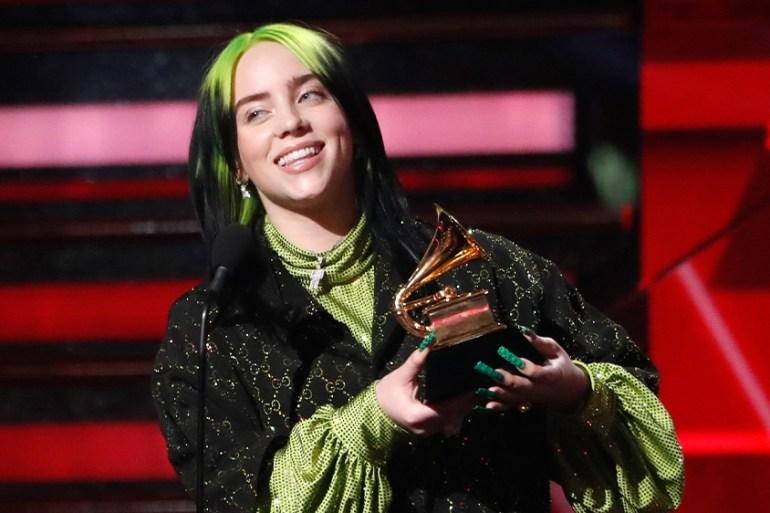 Billie Eilish Sweeps Top Four Prizes At Grammy Awards Us Canada News Al Jazeera