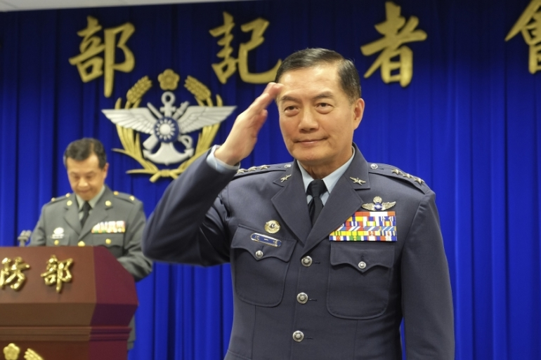 Shen Yi-ming served as chief of general staff in Taiwan at the time of his death [Johnson Lai/AP]