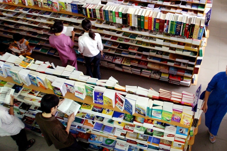 Vietnam's publishing industry is tightly controlled by the government [File: Kham/Reuters]