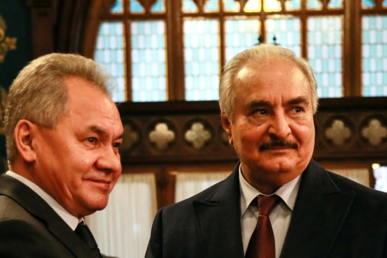Haftar says the draft agreement 'ignores many of the Libyan army's demands' [Reuters]