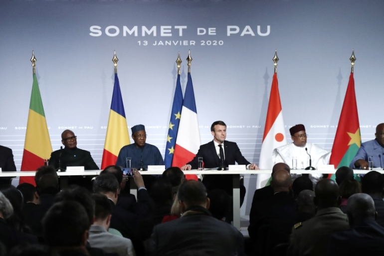 G5 nations expressed a desire for continued French military involvement and Macron promised more support at the summit [Reuters]