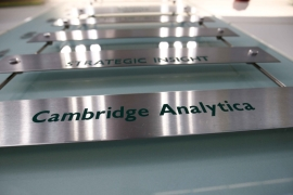 A new trove of documents from Cambridge Analytica and its parent company SCL Group were released on January 1 [File: Reuters/Henry Nicholls]