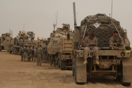 Some 5,200 United States troops are stationed in Iraq as part of the coalition formed in 2014 to fight ISIL [File: AP]