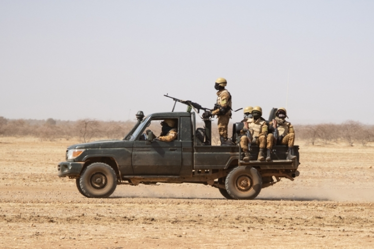 Burkina Faso's army has been fighting against hardline fighters in various parts of the country [File: AFP]