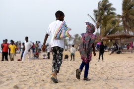 How can The Gambia stop tourists exploiting children?