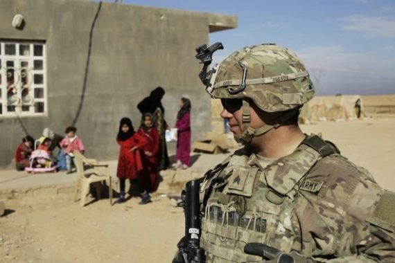 There are currently 2,500 US troops in Iraq focusing on countering the remnants of ISIL (ISIS) [File: Susannah George/AP Photo]