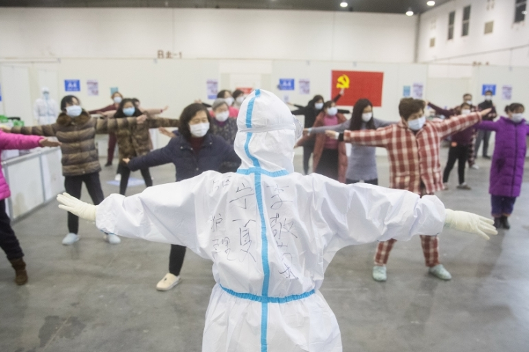 As of February 19, there were at least 14,000 people from mainland China who were reported to have recovered from the coronavirus [China Out/EPA]