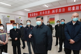 President Xi knew about the potential severity of the coronavirus as early as January 7, according to speech [File: Ju Peng/Xinhua/EPA]