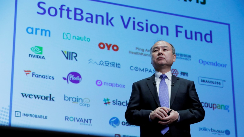 SoftBank profit almost wiped out on losses from Vision Fund | Business and  Economy | Al Jazeera