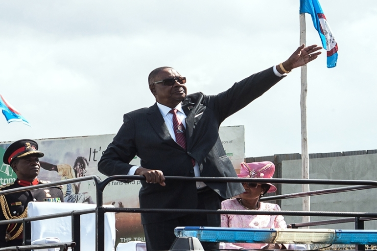 Malawian President Peter Mutharika has challenged the Constitutional Court judgement [AFP]