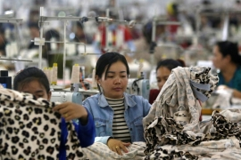 Employees work at a factory supplier of garments in Cambodia, where the European Commission will replace zero duties with standard tariffs for certain garments and footwear [File:Samrang Pring/Reuters]