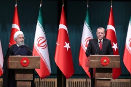 Turkey and Iran have had fraught relations since 2003, writes Ozhan [File: Reuters/Umit Bektas]