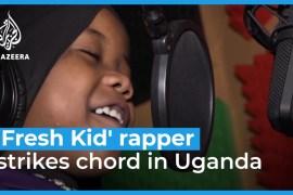''Fresh Kid'' rapper strikes chord in Uganda