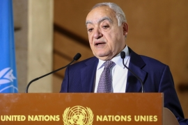 UN envoy for Libya Ghassan Salame said agreements reached in Berlin meeting last week have been violated [File: Denis Balibouse/Reuters]