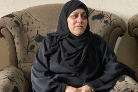 Mohammed's mother Mirvat says the Israeli military committed a 'great crime' [Walid Mahmoud/Al Jazeera]