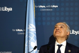 UN Special Envoy  Ghassan Salame recently expressed frustration with foreign powers over their inability to enforce an arms embargo on Libya [Antonio Calanni/AP]