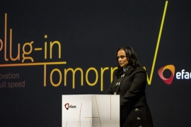 Portuguese engineering firm Efacec said in January that Isabel dos Santos would withdraw from the firm's shareholding structure, adding last week that it was operating normally despite the seizure of her bank accounts [Daniel Rodgrigues/Bloomberg]