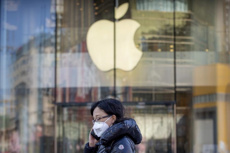 The French regulator said the Apple case was prompted by a complaint lodged by eBizcuss, an Apple premium reseller, in 2012 [File: Mark Schiefelbein/The Associated Press]