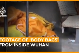 Footage of ''body bags'' from inside Wuhan [Daylife]
