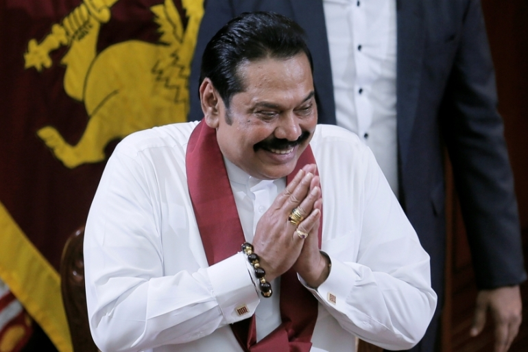 Rights groups have long called for investigations into alleged rights abuses committed during the Rajapaksas' previous terms in power [Dinuka Liyanawatte/Reuters]