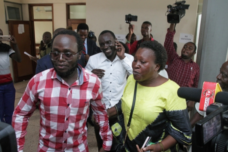 Amnesty International said Kabendera's plea came from 'desperation', possibly linked to poor health [Reuters]