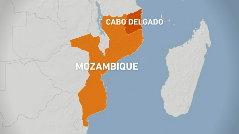 Cabo Delgado district, Mozambique
