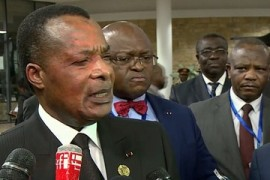 African Union: Leaders discuss Libya peace force