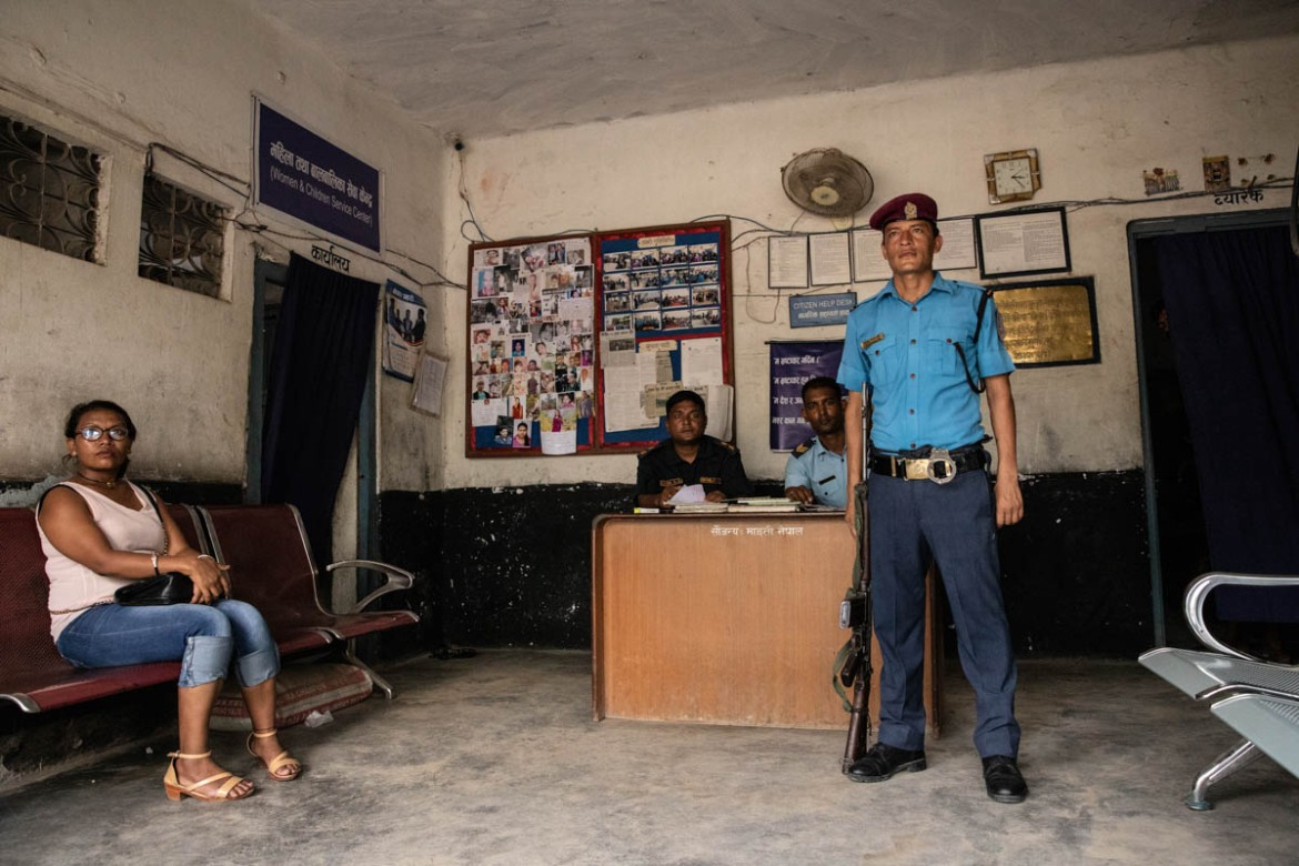 In nepal photos prostitution A brothel