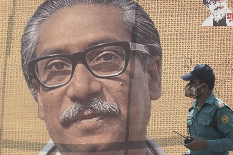 Sheikh Mujibur Rahman was killed in August 1975 [Munir Uz Zaman/AFP]