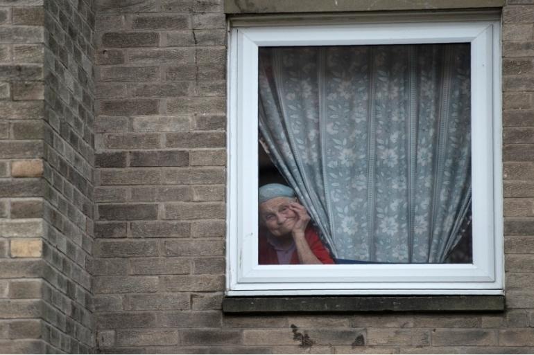 The UK has placed elderly people, those with underlying health conditions and pregnant women at 'high risk' of the virus, recommending they self-isolate for 12 weeks [File: AFP]