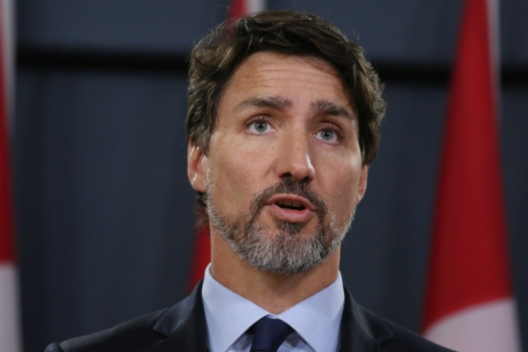 Canadian Prime Minister Justin Trudeau has accused China of engaging in 'coercive diplomacy' as relations between the two countries have deteriorated over the past two years [File: Dave Chan/AFP]