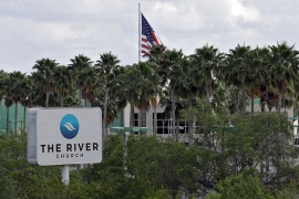 The River Church is shown Monday, March 30, 2020, in Tampa, Forida [Chris O''Meara/AP Photo]