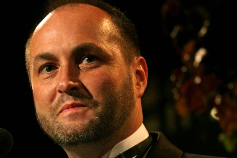 Irish writer Colum McCann's new book Apeirogon was published in February 2020 [File: AP/Tina Fineberg]