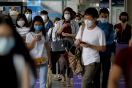 Thailand has been closing down schools, shopping malls and entertainment venues to stem the spread of the coronavirus [Diego Azubel/EPA]