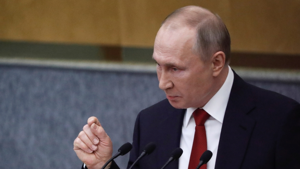 Putin May Extend Term Over Threats To Russia Coronavirus Russia Al Jazeera