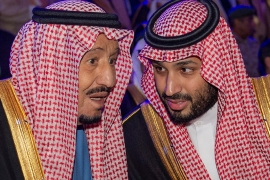 The latest round of detentions appeared to be Crown Prince Mohammed bin Salman's latest effort to consolidate power and control over the royal family [File: Bandar al-Jaloud/AFP]