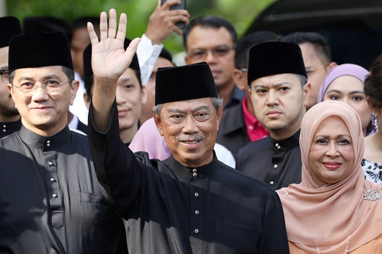 Muhyiddin, who has a razor-thin majority in parliament, is under pressure from unhappy coalition partners who have demanded more powerful positions in his administration [File: Lim Huey Teng/Reuters]