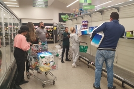 Australia has been hit by panic buying with shoppers honing in on toilet rolls [Tracey Shelton/Al Jazeera]