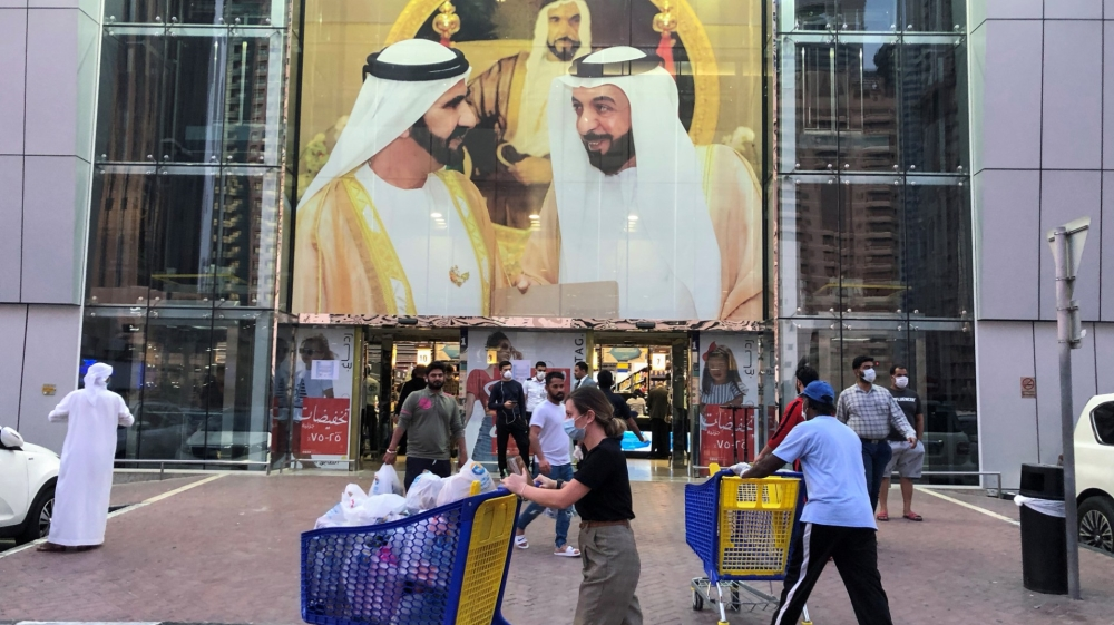 UAE imposes curfew for deep cleaning as coronavirus cases rise | Kuwait |  Al Jazeera