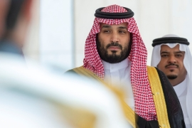 Saudi Arabia's Crown Prince Mohammed Bin Salman's Vision 2030 plan was already struggling before the kingdom declared an oil price war [File: Reuters]