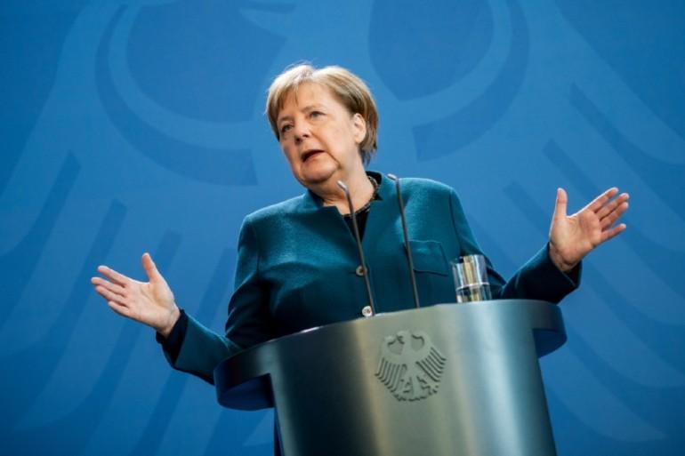 German Chancellor Angela Merkel Tests Negative For Coronavirus Angela Merkel News Al Jazeera