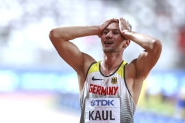 Athletes, including German Kaul, fear there will not be a level playing field at the Japan Olympics [File: Serhat Cagdas/Anadolu]