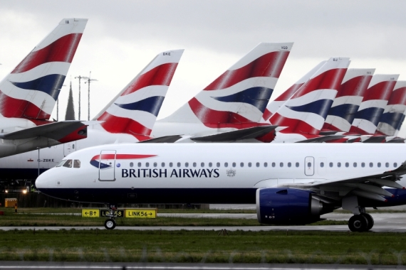 British Airways is said to be among airlines that will use a rapid-test system at Heathrow Airport, according to reports [File: Simon Dawson/Reuters]