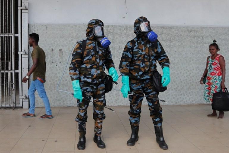 Sri Lanka Extends Nationwide Curfew To Fight Coronavirus Pandemic Coronavirus Pandemic News Al Jazeera
