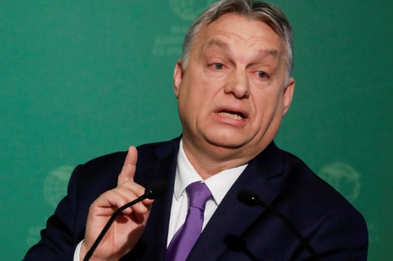 Viktor Orban insists his new powers will help the country fight the spread of coronavirus [Bernadett Szabo/File Photo/Reuters]