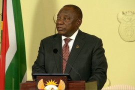 South African court clears Ramaphosa of corruption charges
