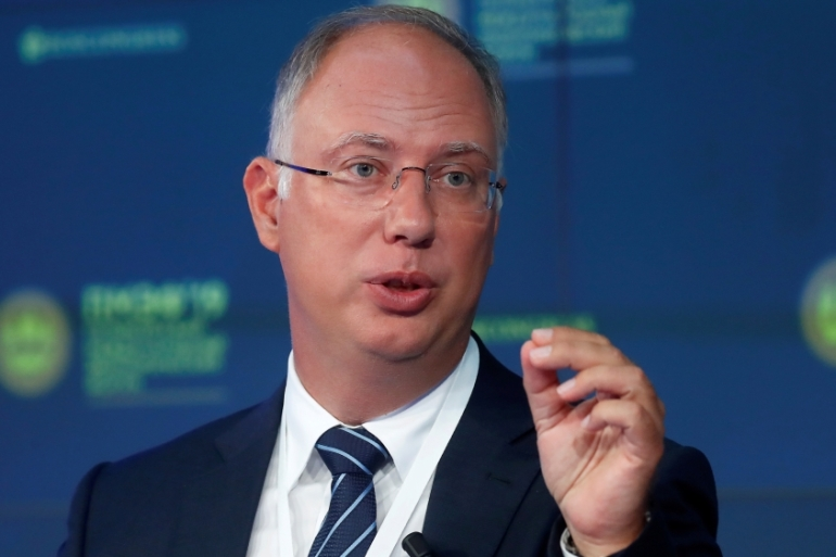 Kirill Dmitriev, CEO of Russian Direct Investment Fund, on Monday said that the oil deal being brokered between Russia and Saudi Arabia 'will bring lots of stability, so much important stability to the market, and we are very close' [File: Maxim Shemetov/Reuters]
