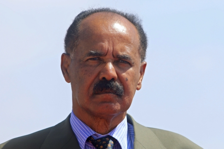 The coronavirus pandemic will likely spell trouble for Eritrea's authoritarian government led by President Isaias Afwerki, writes Zere [Feisal Omar/Reuters]